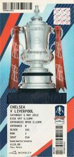 reproduction 2012 CHELSEA LIVERPOOL FA cup final PERSONALISED ticket