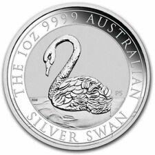 AUSTRALIE 1 Dollar Argent 1 Once Swan 2021