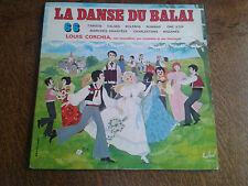 album 2 33 tours la danse du balai louis corchia son accordeon son orchestre et