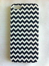 Black and White Chevron Printed iPhone 5/5s Case