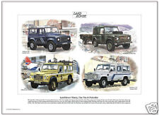 LAND ROVER NINETY, ONE TEN & DEFENDER - Fine Art Print