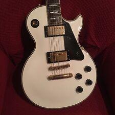 2002 Made In Korea Epiphone Les Paul Custom guitar with Gibson Bridge Pickup