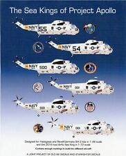 NEW 1:72 Old 66 Decals 7203 USN Sikorsky SH-3 Sea Kings Apollo Recovery