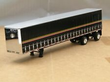dcp silver/black spread axle Tautliner curtain side trailer 1/64