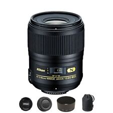 Nikon AF-S Micro-NIKKOR 60mm f/2.8G ED Lens for DSLR Camera Body
