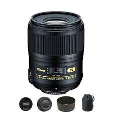 Nikon AF-S Micro-NIKKOR 60mm f/2.8G ED Lens for DSLR Camera Body - NEW