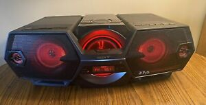 SONY ZS-BTG900 Wireless Bluetooth Boombox Ghettoblaster CD Player AM FM Radio