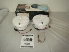 "WET SOUNDS REVO 8-XW-W HIGH OUTPUT 8"" 2-WAY WHITE MARINE LED SPEAKERS"