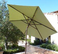 7.5 ft Aluminum market umbrella, Crank and Tilt  - Sage Green