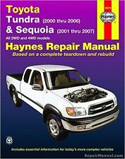 Toyota Tundra 200-2006/Sequoia 2001-07 Haynes Repair Manual 2WD & 4WD 92078