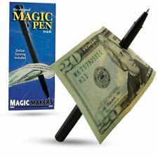 Magic Makers Pen Trick Original Easy Thru Dollar Bill Penetrating