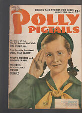 Polly Pigtails #31 Girl Scouts Speck Star Camper Cover 1948