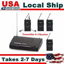 Takstar WPM-200 Wireless Monitor System 780-789MHz 1x Transmitter+ 4x Receivers