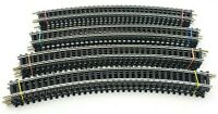 """Bachmann R. 18""""-30 Steel HO Scale Standard Curved Track Lot of 20"""