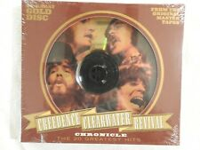 """Creedence Clearwater Revival """"Chronicle"""" BRAND NEW 24kt GOLD DISC! STILL SEALED!"""