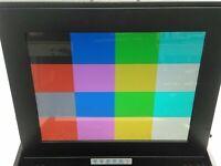 "Generic KVM Console 1U Rackmount 15"" LCD Monitor PS/2 Keyboard"