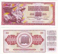 Ex Jugoslavia banconota del 1986