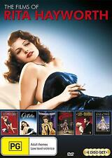 THE FILMS OF RITA HAYWORTH COLLECTION (6 movies) - DVD - UK Compatible -Sealed