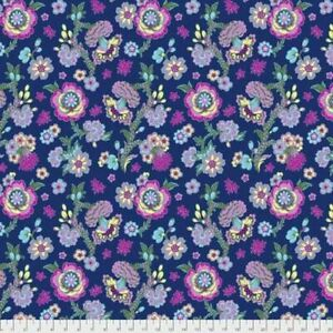 Amy butler Night Music Midnight Bloom Quilting Fabric dressmaking Supply FQ