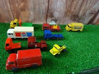 "x 9 various vintage 2-3"" Corci juniors/Majorette/Alone star diecast cars lot E3"