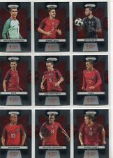 Panini Prizm World Cup 2018 Complete 9 Card Portugal Team Set