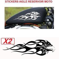 2 stickers autocollant aigle tribal pr reservoir moto harley ++couleurs o choix