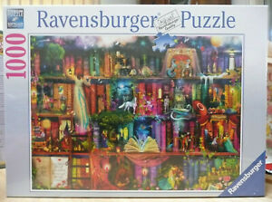 RAVENSBURGER PUZZLE. FAIRYTALE FANTASIA BY AIMEE  STEWART- BRAND NEW WITH DAMAGE