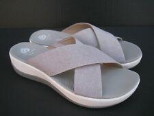 Clarks Cloudsteppers Women's Cross Strap Slide Sandals, Size 8 M