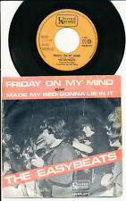 "THE EASYBEATS 45 TOURS 7"" HOLLANDE FRIDAY ON MY MIND"