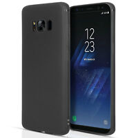 Silicone Case For The Samsung Galaxy S8 Solid Matte Flexi TPU Gel Phone Cover