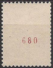 France n° 1331b 25 c COQ n° rouge au verso !