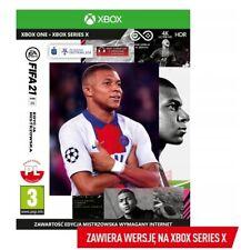 FIFA 21 EDYCJA MISTRZOWSKA XBOX ONE PL POLSKI KOMENTARZ DUBBING POLSKA POLISH