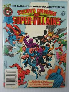1981 SECRET ORIGINS OF SUPER-VILLAINS Best of DC #9  Blue Ribbon Digest  7.5 VF-