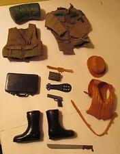 "Modern Accessories for 12"" GI Joes - Morris Jacket, Vest, Pistol, Hat, Boots +"