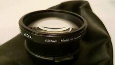 TIFFEN TELEPHOTO CONVERTER 37MM LENS 2X For Canon Pro Shot 1 Japan