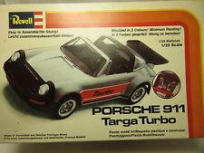 REVELL 6212 PORSCHE 911 Targa Turbo Bausatz Kit ungeöffnet 1:25 1/25 17 cm OVP