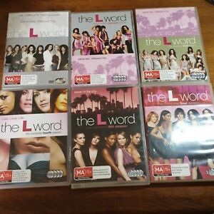 The L Word Complete Series DVD Season 1 -6 R4 Like New! FREE POST 123456