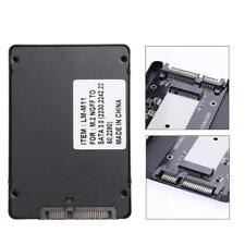 B Key M.2 NGFF SSD to 2.5 inch SATA Converter Adapter Enclosure Case Box Black