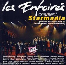 CD audio../....LES ENFOIRES CHANTENT STARMANIA.../...1993.../...