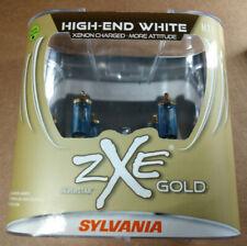 SYLVANIA Silverstar zXe Gold H11 55W Two Head Light Bulbs - NEW