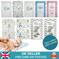 Baby Changing Mat | Newborn Padded Re-Usable Soft Comfortable | 78cm x 45cm | UK