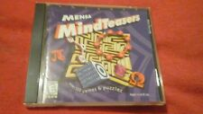MENSA MINDTEASERS MIND TEASERS  PC CD ROM 500+ GAMES PUZZLE