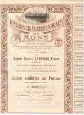 Grands Chantiers Navals de Mons 1919