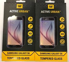 2 x Samsung S6 Hard Active Urban Rugged Armour tempered Glass screen protector