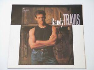 RANDY TRAVIS - NO HOLDIN' BACK, 1-25988 WARNER BROS. 1989