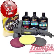 !!! nuevo!!! Meguiars MT320 doble acción máquina de pulido/buffer Ultimate Kit de coche