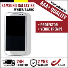 AAA+ LCD SCREEN/SCHERM/ÉCRAN WHITE + SCREEN GUARD FOR SAMSUNG GALAXY S3 I9300