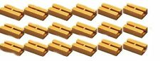 Zenner 18 Gleis Isolierverbinder, gelb, für LGB Gleisprofil