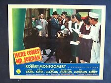 HERE COMES MR JORDAN '41 ROBERT MONTGOMERY IS CONFUSED IN HIS NEW BODY VF+ LC