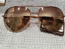 Panama Jack PJL 19 Womens  Sunglasses Copper Aviator Brown New